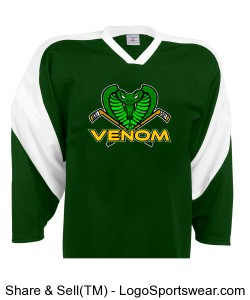 Venom Home Jersey - Bellamy Design Zoom