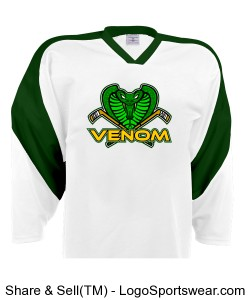 Venom Away Jersey - Armstrong Design Zoom